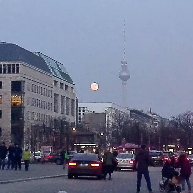 Magnificent full red moon has cast a spell over mehellip