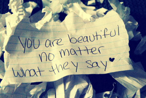 Du bist wunderschön!