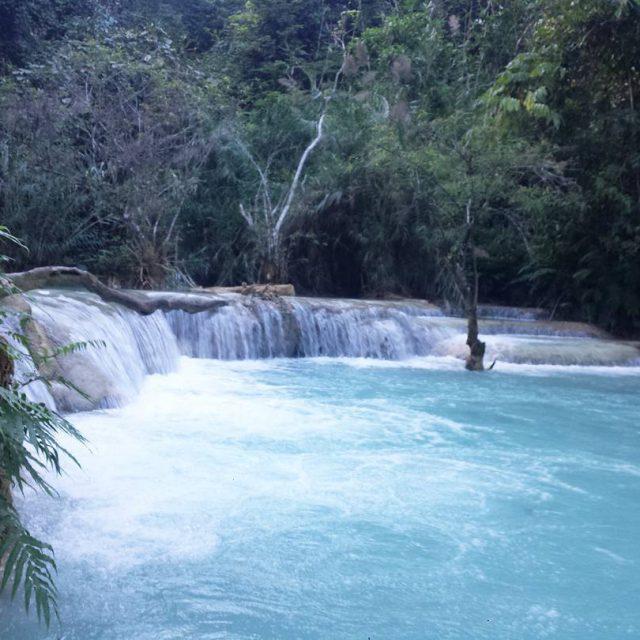 Amazed by its beauty! laos natrue waterfall power beauty mustseehellip