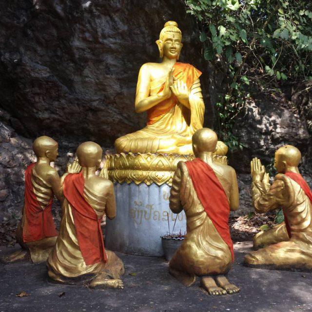 Sightseeing in Luang Prabang buddha stupa spirit laos luangprabang travlehellip