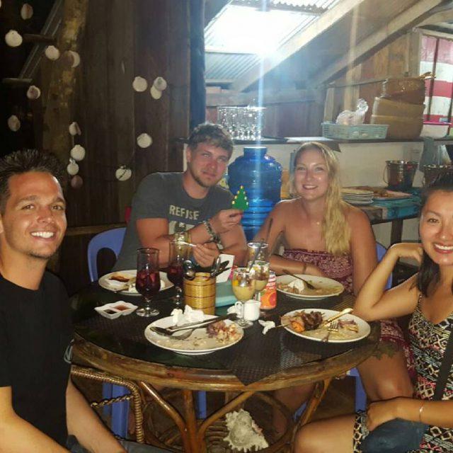 Christmas Dinner  merrychristmas christmastime fun dinner kohrongsamloem island cambodiahellip