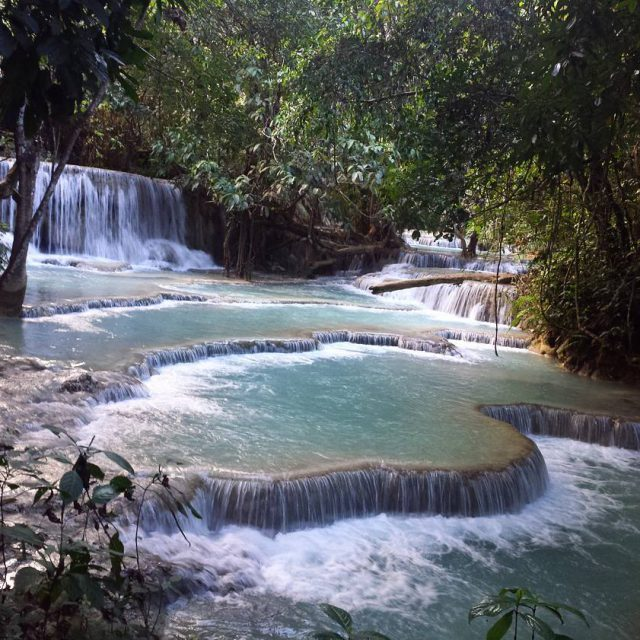 Cant get enough of itD laos beauty kuangsiwaterfall luangprabang happydayhellip