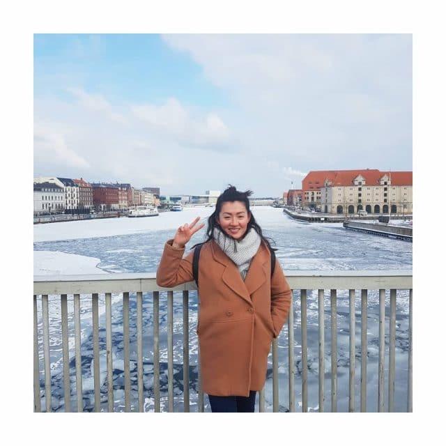 Hello from Copenhagen! Letztes Wochenende habe ich vermutlich das kltestehellip