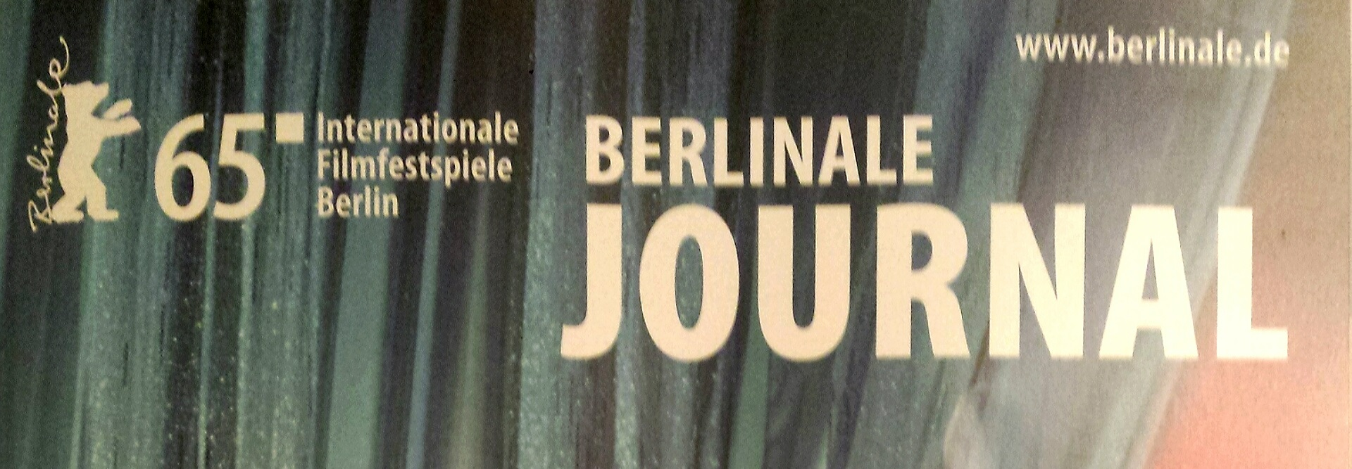 65. Berlinale Journal Cover