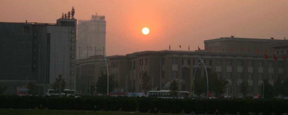 Sonne in Tianjin