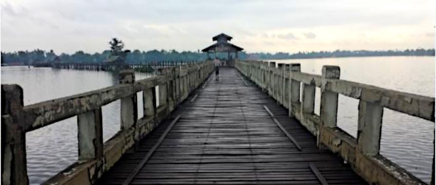 U Pain Brücke Myanmar