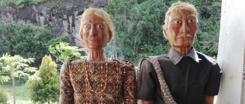 Holzfiguren von Tana Toraja